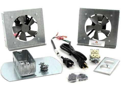 heat and glo fireplace fan fk18 fireplace fan kit for heat glo fireplaces