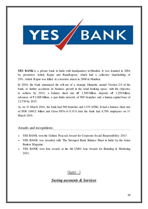 Andhra Bank Statement Letter Comparative Analysis Of Saving Accounts Of Different Banks