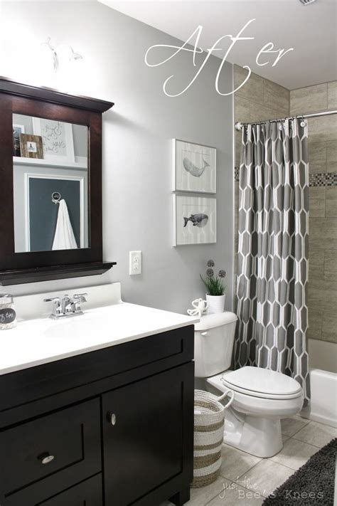 bathroom paint ideas pinterest we adore this white and grey bathroom plete with lavish