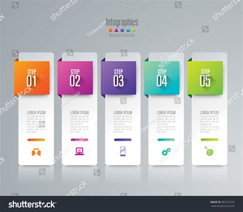 web layout options infographic design template can be used for workflow