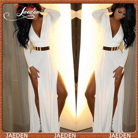 Supplier Dress Katun Linea By Bls aliexpress buy je0451 real photos sleeve white evening dress spandex