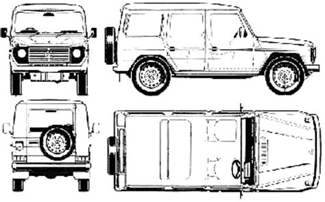 G Wagon Sketches by Car Blueprints Mercedes G Wagen Lwb Blueprints