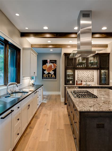 designer home decor waynesville mountain modern craftsman house acm design