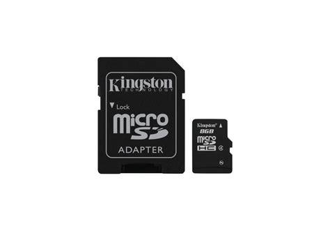 kingston microsd 8gb sd adapter gts amman