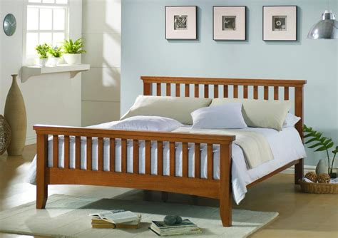 King Size Bed Frame With Headboard And Footboard Attachments Best Wood To Build Platform Bed