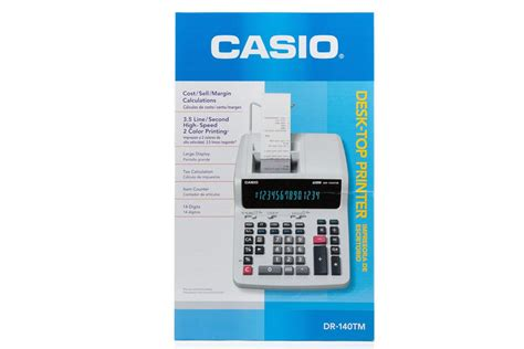 Kalkulator Casio Printing Dr 140tm jual casio dr 140tm jual casio printable dr 140tm di kalkulator grosir