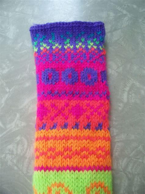 neon yarn for knitting neon stranded knitting sler using caron simply soft
