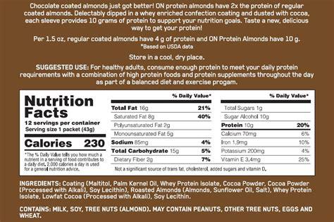 protein almonds optimum nutrition protein almonds 3 pack www