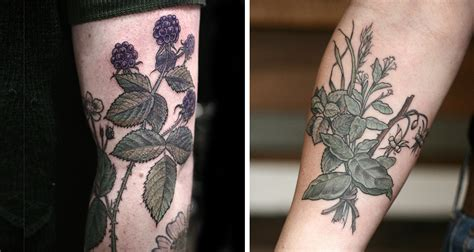 botanical tattoo artists beautiful botanical tattoos by salem witch descendant