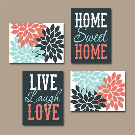 home prints wall art canvas or prints live laugh love home sweet home