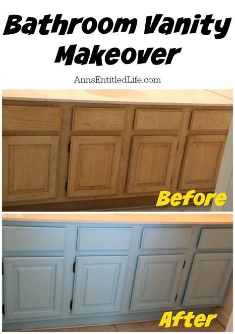 restaining bathroom vanity bathroom vanity makeover bathroom vanities and the step