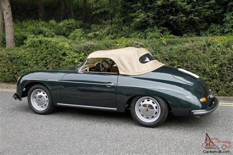 porsche 356 replica chamonix porsche 356 speedster 1956 replica green new