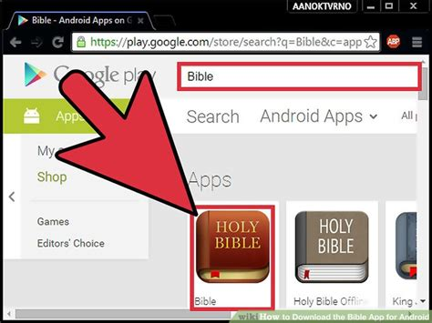 the bible app for android how to the bible app for android 8 steps with pictures