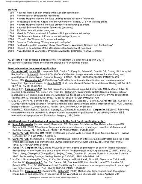 nih grant sections full nih grant proposal with comments