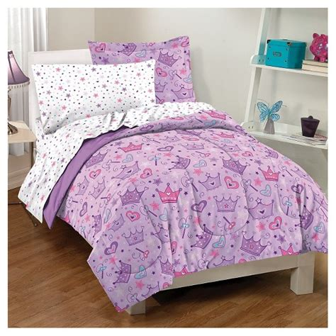target bed in a bag dream factory 174 stars crown mini bed in a bag purple