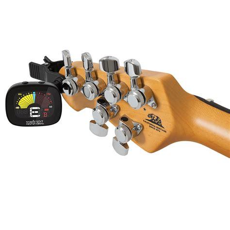 Ernie Flextune Clip On Tuner ernie 4112 flextune portable clip on guitar tuner bnib belfield