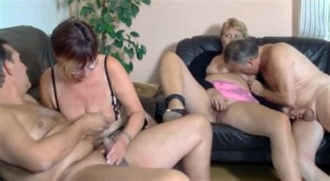 German Mature Swingers Get Oral At A Hot Party Mature