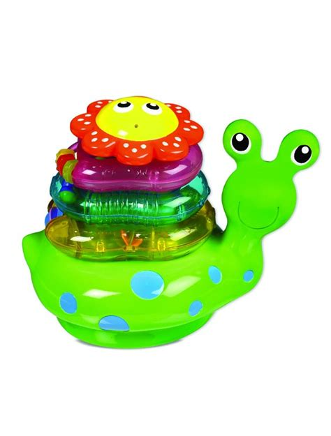 baby bathtub toys best baby bath toys snail stacker goodtoknow