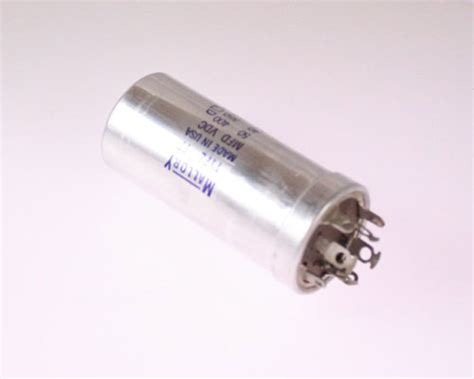capacitor mallory type fp mallory capacitor 50uf 400v aluminum electrolytic large can twist lock 2020043612
