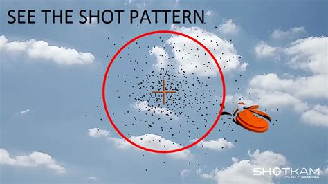 buckshot pattern youtube shotkam studying the shot pattern youtube