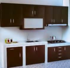 Lemari Dapur Di Bandung meja bar di dapur rumah minimalis 187 gambar 715 home design ideas bar