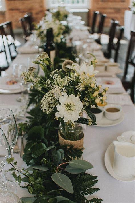 the 25 best wedding table garland ideas on pinterest