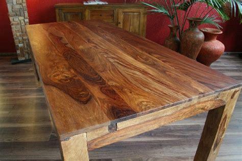 Holztisch Massiv Polieren by Esstisch Erweiterbar Massiv Holz 120x80 200x80 Bali