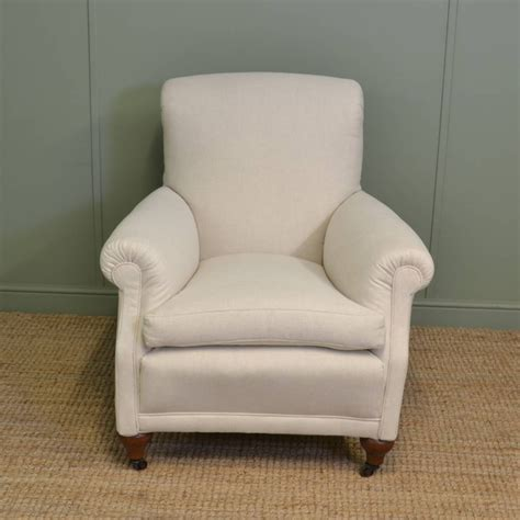 comfy armchairs comfy antique edwardian upholstered armchair 297278