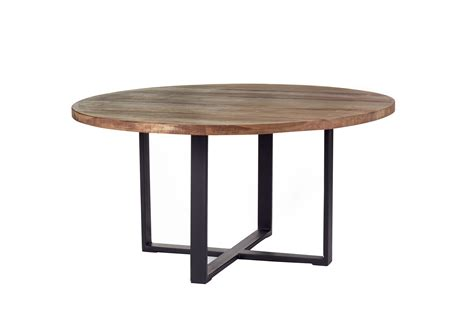modern round outdoor dining table custom industrial modern round dining table rustic dining