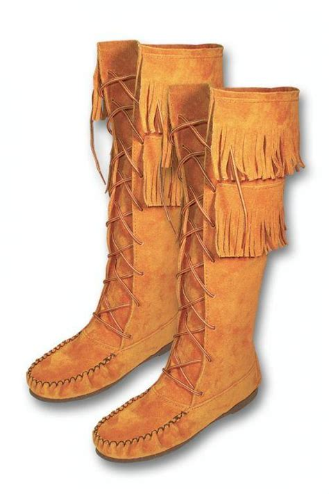 Handmade American Shoes - boot moosehide moccasins southwest indian