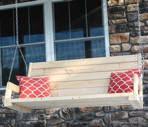 sweet pea swing diy 2x4 porch swing sweet pea