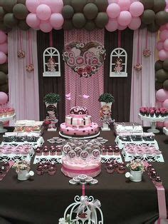 Pink And Brown Decorations by 1000 Images About Birthday Ideas Pink Brown On Pink Brown Pink Cupcakes