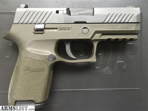 sig p320 laser light armslist for sale used od green sig sauer p320 compact 9mm