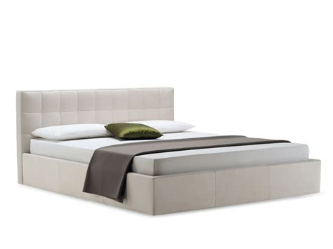 bed designs with side boxes upholstered bed box by zanotta design emaf progetti