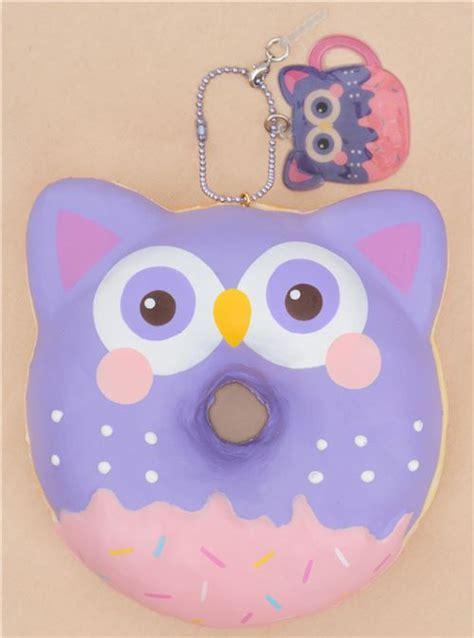 Squishy Cafe Animal Donut Cafe Animal Donut vorbestellung squishy donut lila eule puni maru puni maru squishies squishies shop modes4u