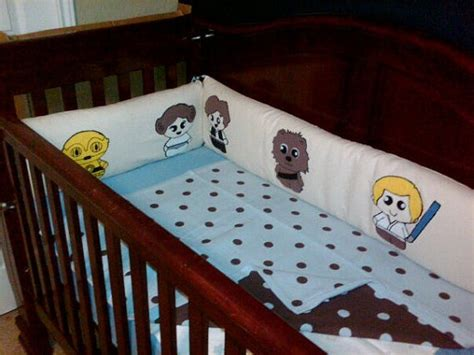 star wars baby bedding custom starwars baby crib bumper nursery puppydogtails