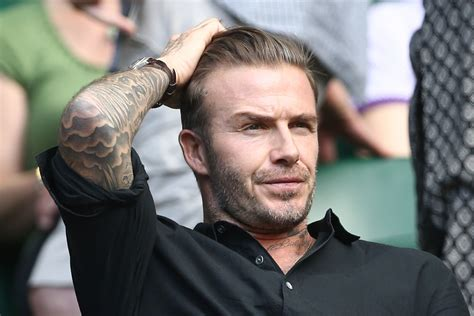 Beckham To With The by Stolen Emails Expose David Beckham S Darker Side