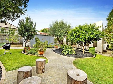 Backyard Ideas Australia Australian Garden Design Using Grass With Gazebo Sculpture Gardens Photo 194864