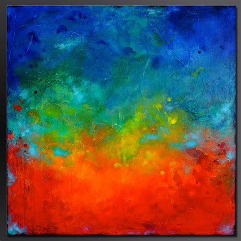 how to splatter acrylic paint on a canvas splatter 36 x 36 abstract acrylic painting on canvas