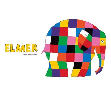 Elmer The Patchwork Elephant - elmer design tshirts store graniph