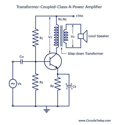coupled inductor class d transformer coupled class a power lifier quot qele quot