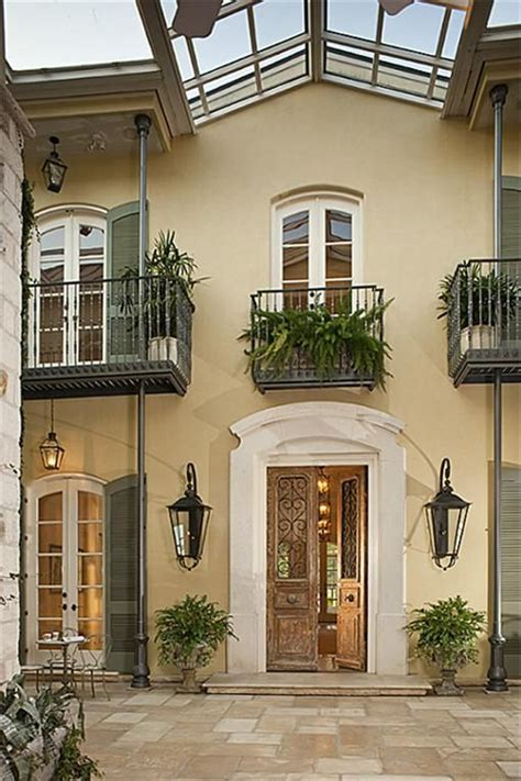 new orleans style homes new orleans style home with courtyard home decor pinterest