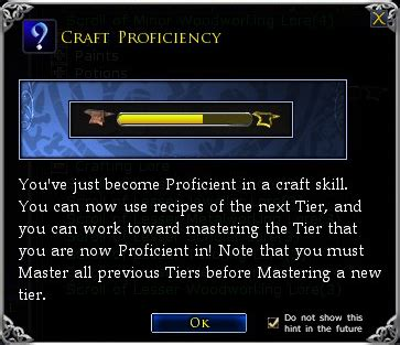 an introduction to crafting part 3 tiers explained lotro adventures