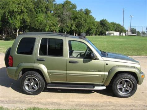 Jeep Liberty 2003 Type Purchase Used 2003 Jeep Liberty Renegade In Denison