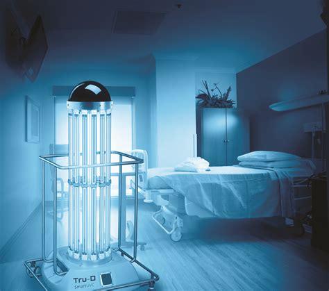 uv light in hospitals tru d uv disinfection in hospital room reducing hai s