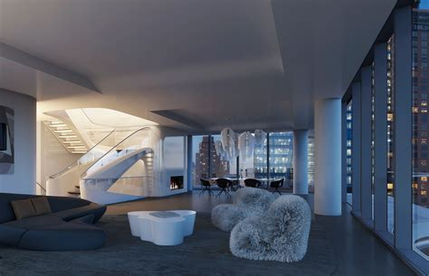 penthouse apartment new york penthouse at zaha hadid s only new york residential