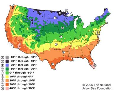 america plant zone map hardiness zone map