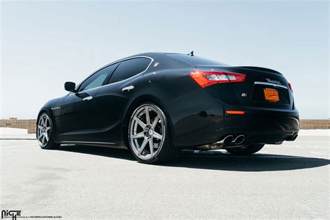 maserati trident wheels hear and feel the trident with this ghibli on niche wheels