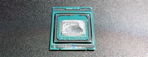 Intel I9 7900x Live Delidding Of Intel I9 7900x New Rfid Chip On Cpu