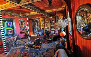 houseboat upstate new york step inside artists magical house boat and upstate